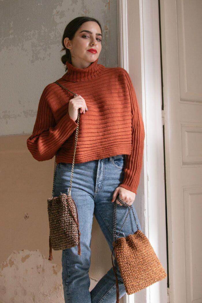 Crochet Small Pouch bag