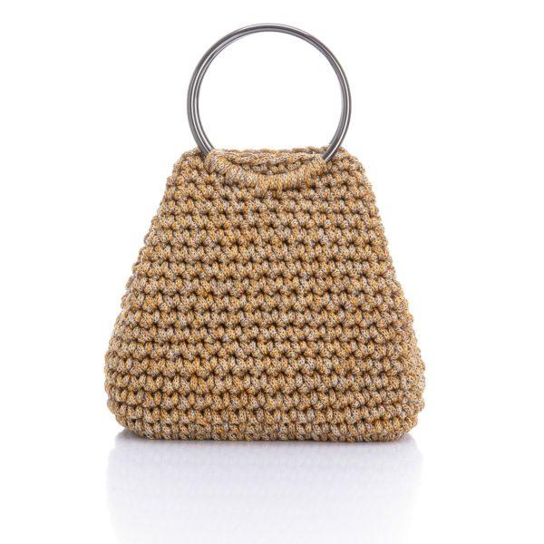 mini round handle bag