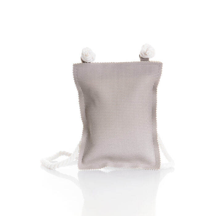 small pocket bag in eco leather