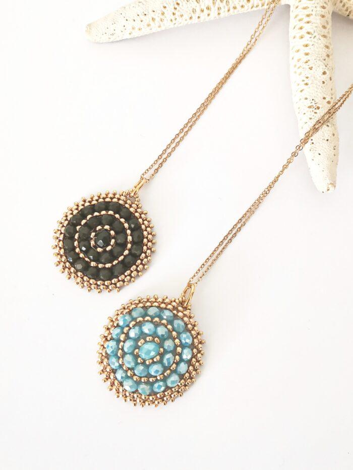 Round vintage pendant