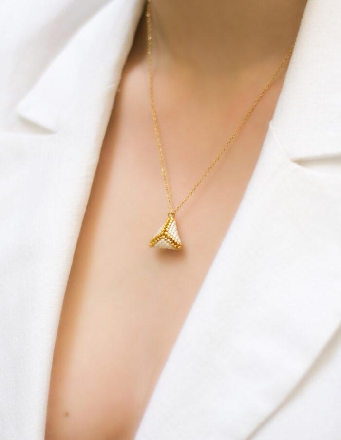 small 3D beaded pendant (1)