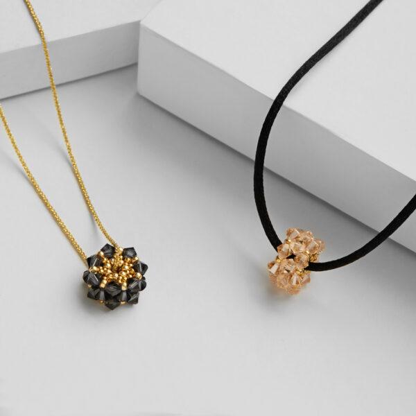 swarovski beads pendants
