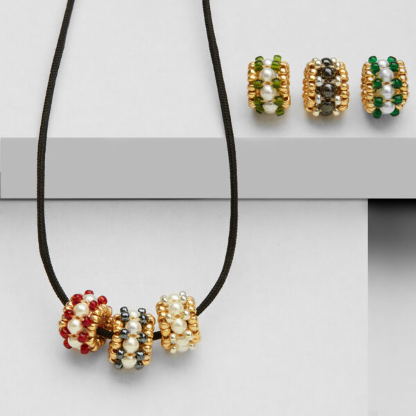 Shell pearl multi beads